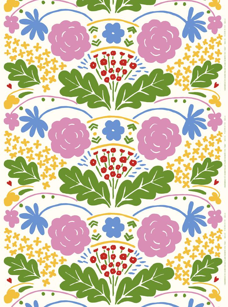 石本藤雄展 -マリメッコの花から陶の実へ-