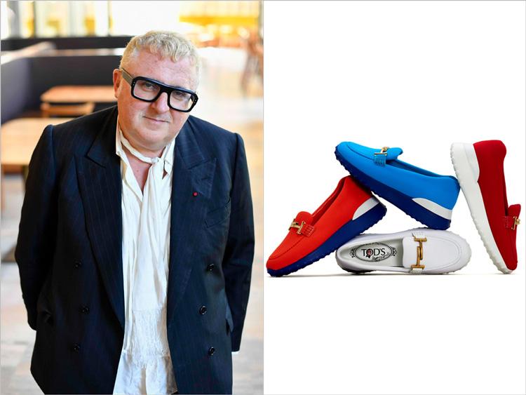 トッズとコラボ「幸せになれる靴を」 アルベール・エルバス