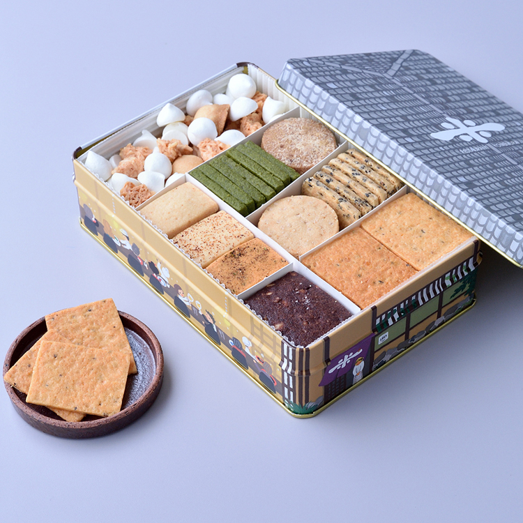 「よねむら」のオリジナルクッキー 片岡亀蔵さん