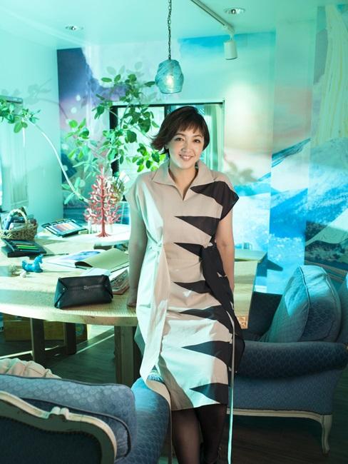 """森本千絵さん「服は""""環境の一部""""だから、作るものに影響する。大事なスイッチですね」"""