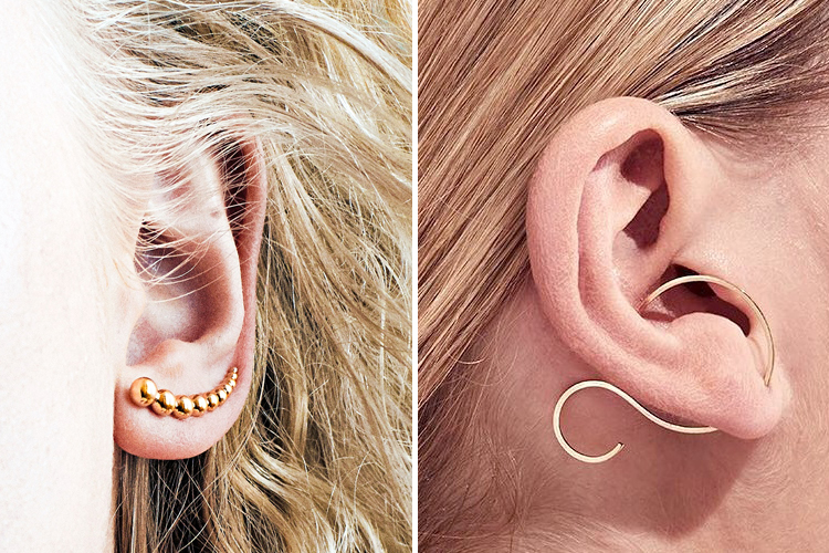 耳全体を飾る、意外性に熱視線
