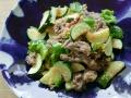 家族の健康のために、脱レトルトで作る炒め物