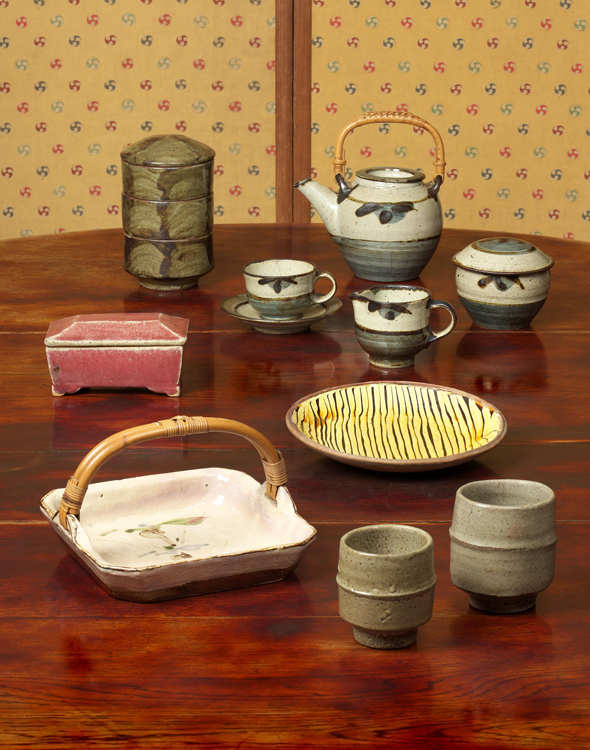 柳宗悦のコレクション展「食の器」