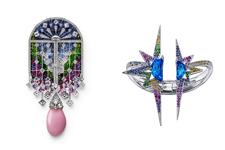 自然界モチーフ 至高の輝き パリ、宝飾ブランドの新作発表