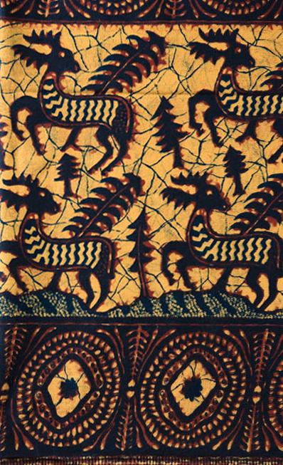 『アフリカンプリント 京都で生まれた布物語』