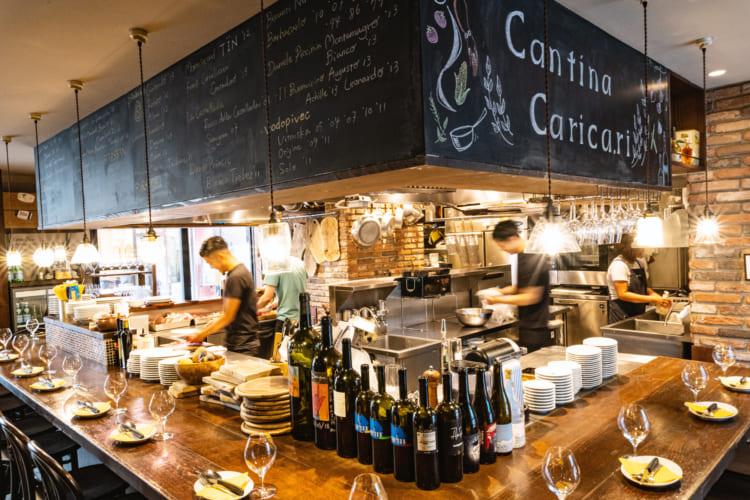 <2>素材そのものの色みを生かす、白い皿/カンティーナ カーリカ・リ