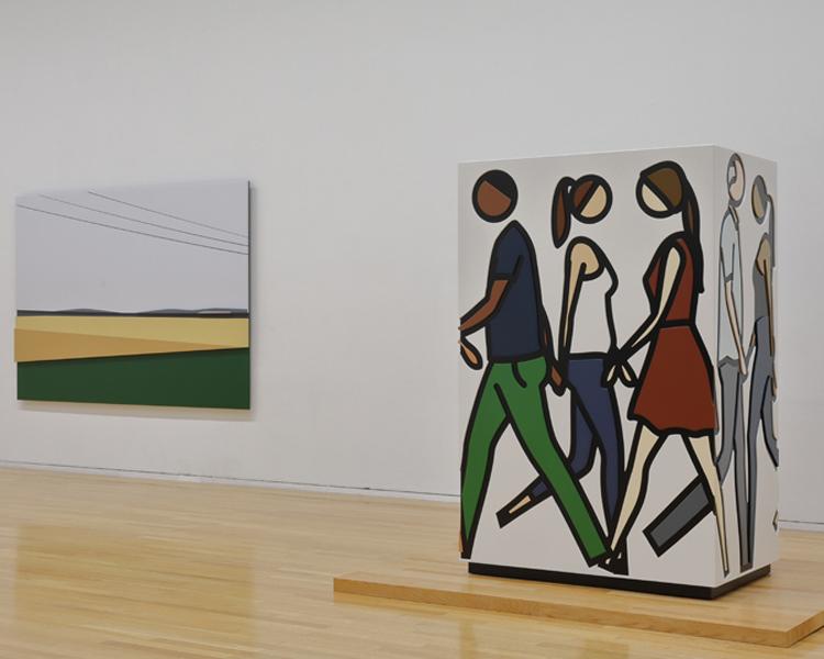 イギリスを代表するアーティスト『ジュリアン・オピー展』