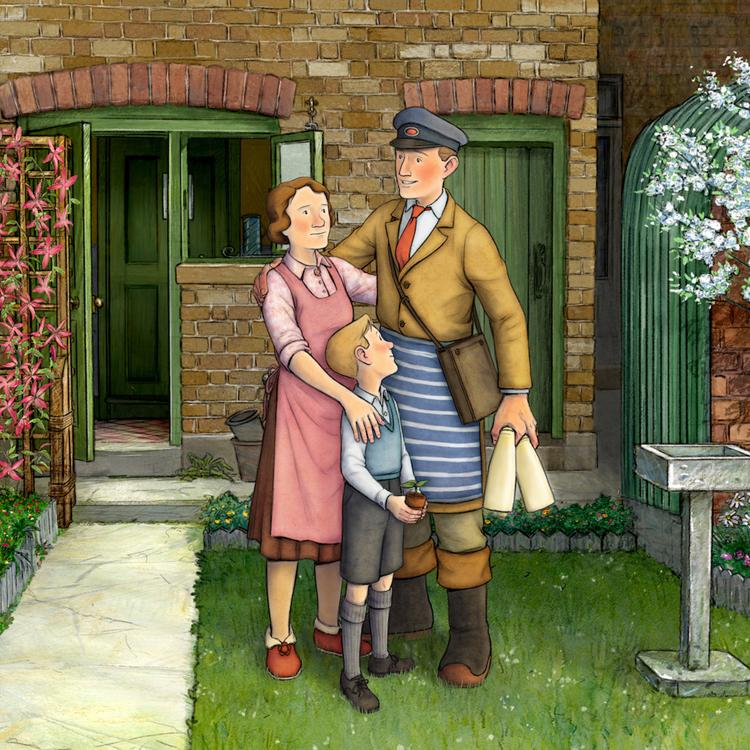 【映画劇場鑑賞券】英国の傑作絵本を忠実に再現した、奇跡の手書きアニメーション『エセルとアーネスト ふたりの物語』