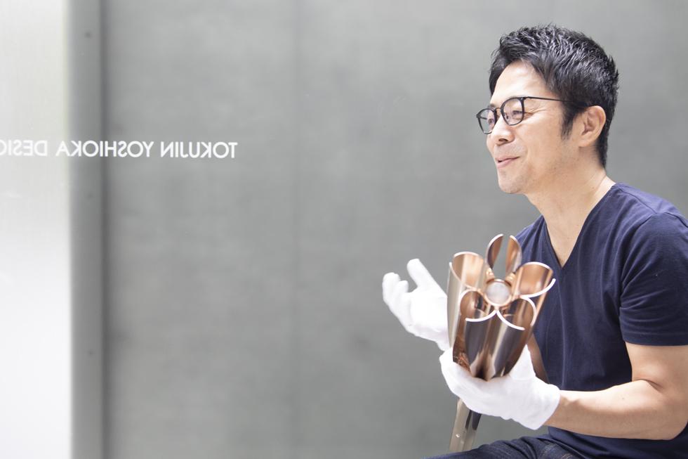 東京2020 聖火リレートーチ デザイナー・吉岡徳仁さんの五感と5分間 ...