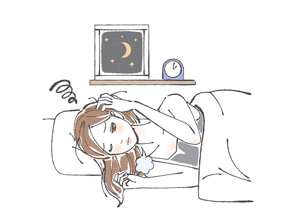 が 悪い 寝つき