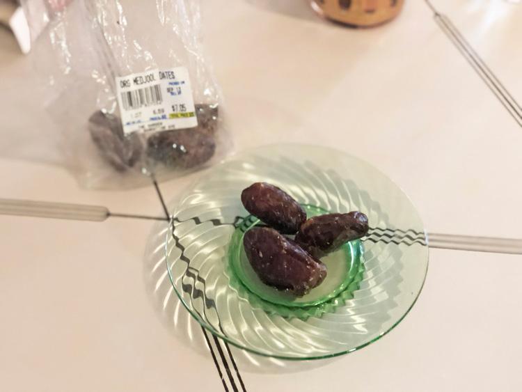 クリスマスの甘いしあわせ。デーツのクッキー