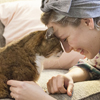 デザイナー夫婦と犬&猫。19年過ごした猫はベストフレンド