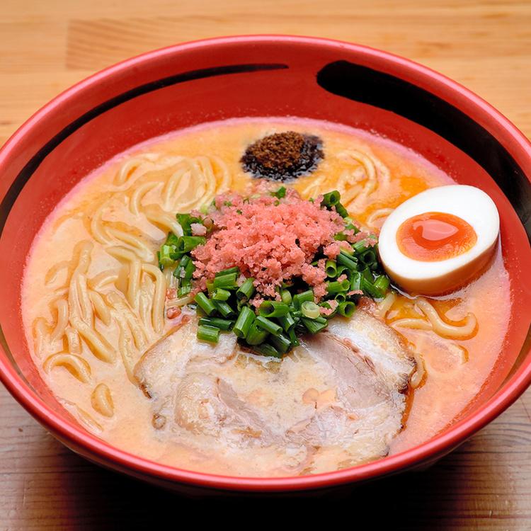 「えびそば一幻」のほどほど えびしお〈極太麺〉 仙名彩世さん