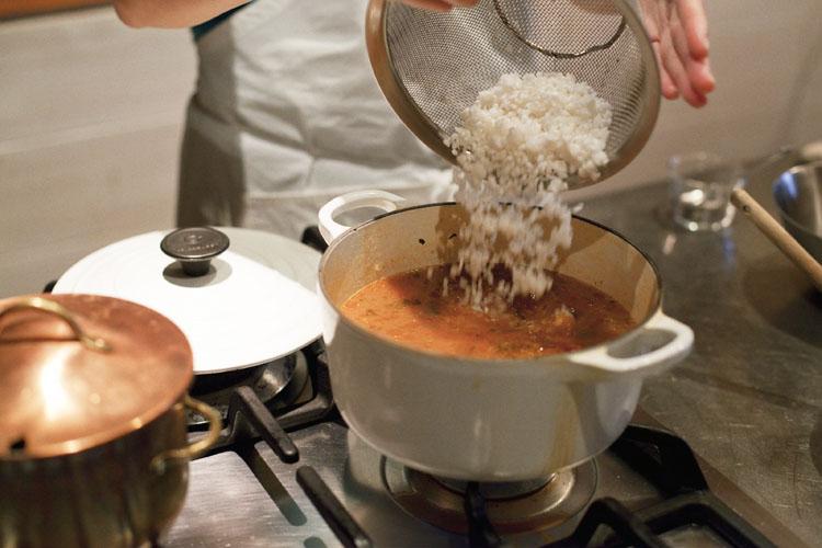 トロトロ、プリプリ。新食感のポルトガル風・タコリゾット