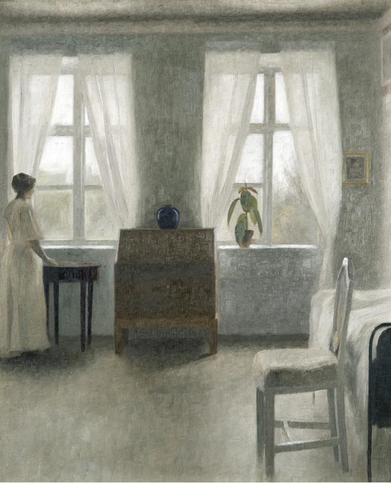 静かなる衝撃、再び-「ハマスホイとデンマーク絵画」
