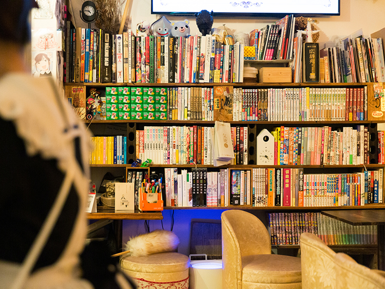 <134>「自分に優しい職場」を作ったら 「本とメイドの店 気絶」