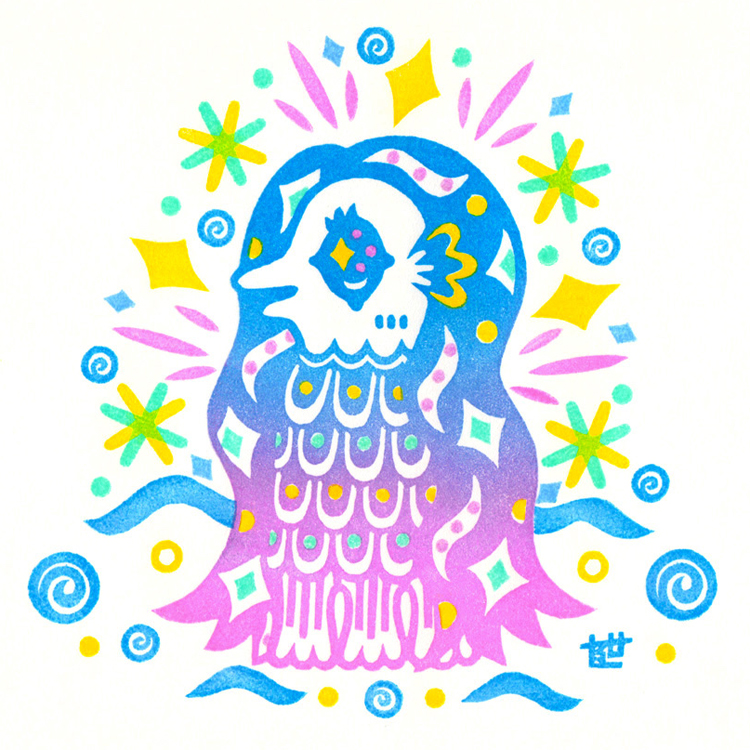 江戸時代に現れた妖怪、「アマビエ」で疫病退散!