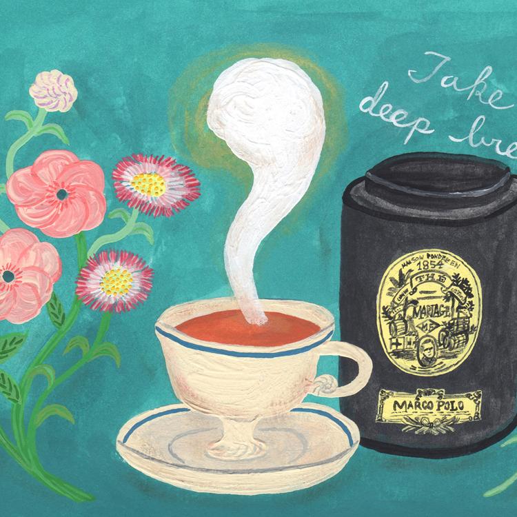 〈9〉紅茶の香りに包まれて深呼吸/そで山かほ子さん