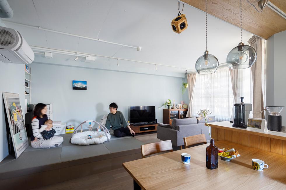 心地よくて合理的、リノベーションの新しいスタンダードを感じる家