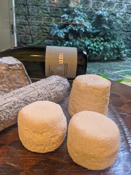 簡単、ごちそう感たっぷり! 白ワインが進むサラダ&チーズの一皿