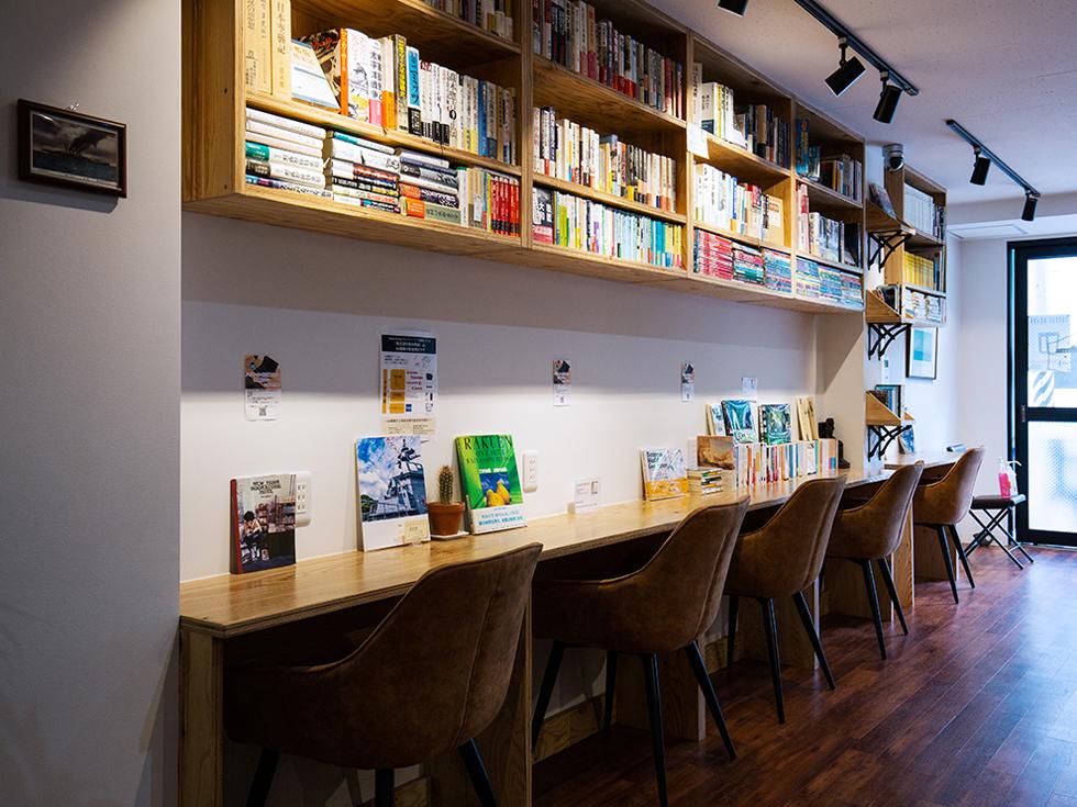 <138>趣味の本に囲まれて悔いのない人生を 「Books & Cafe ドレッドノート」