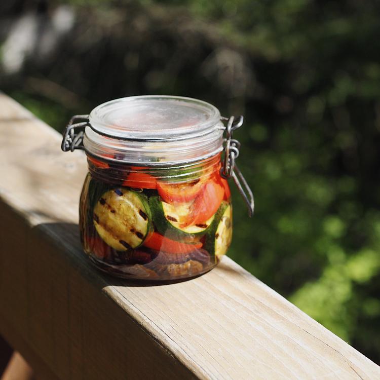 〈保存食&アレンジ料理〉グリル野菜のオイルマリネ