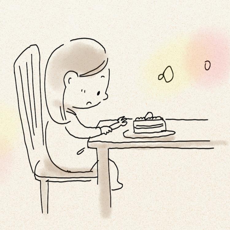 秘密まで溶かす、祖母と食べた甘いケーキ