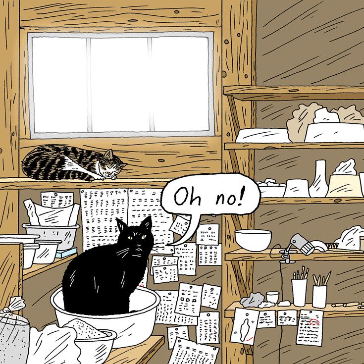 猫の道は必ずや開かれる。byマメ(飼い主・大谷哲也さん&桃子さん)