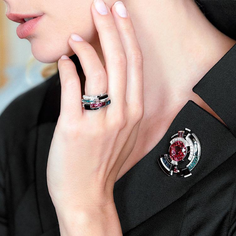 はかなさ、ユニークさ、大胆に 宝飾ブランドのハイジュエリー新作発表