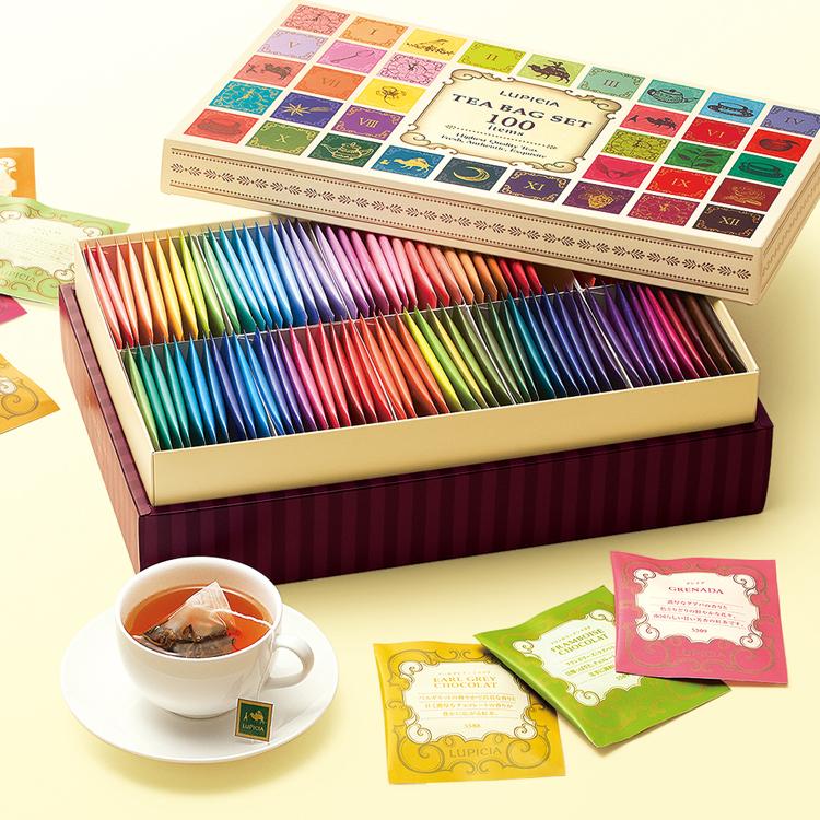おうち時間を応援! お茶専門店ルピシアの「ティーバッグセット100種」プレゼント