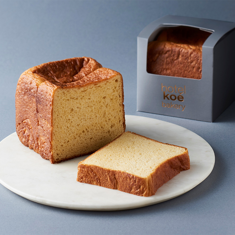 甘い香りと極上のさっくり感。3時のおやつのために生まれた進化系生食パン/hotel koé bakery