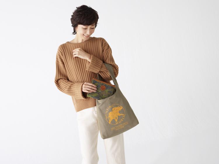 女優・田丸麻紀 「サステイナブルなバッグが自然との架け橋になる」