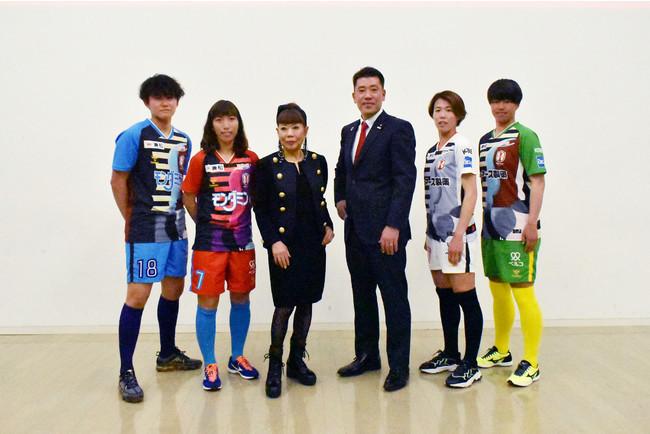 コシノヒロコがINAC神戸のユニフォームをデザイン! ファッション性を高めた女子サッカー用ユニフォームが誕生