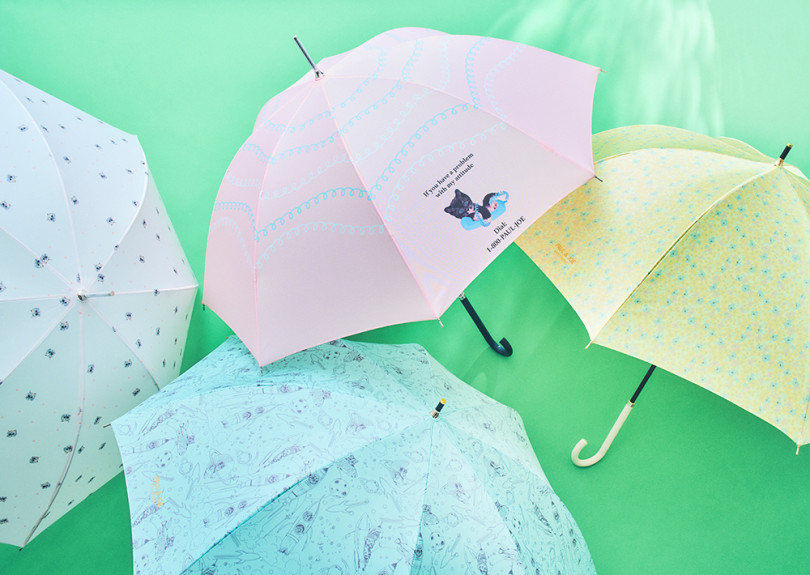 ポール & ジョーのハッピーな傘とパラソル、2021春夏新作コレクションがお目見え