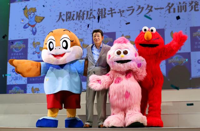 モッピー」改め「もずやん」です 大阪府のゆるキャラ:朝日新聞