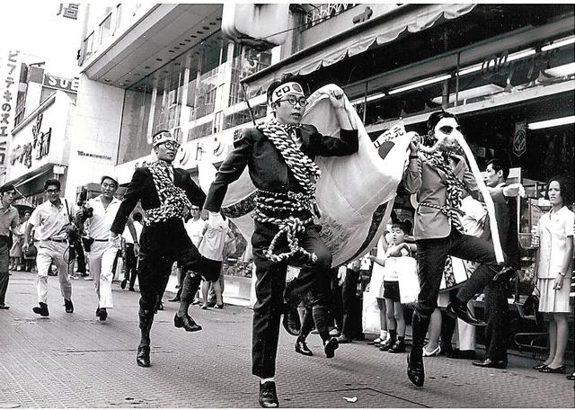1960年代、前衛美術家の姿 社会...