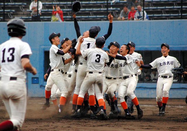 「大商大堺 野球」の画像検索結果