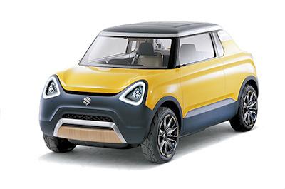 スズキの軽コンセプトカー「マイティデッキ」。ヘッドライトがつり目なところを除けば、かつての「マイティボーイ」にコンセプトも外観もそっくりだ=同社提供