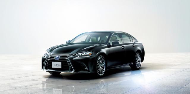 レクサスの高級ミッドサイズセダン次期「GS」。年内発売予定だ=トヨタ自動車提供