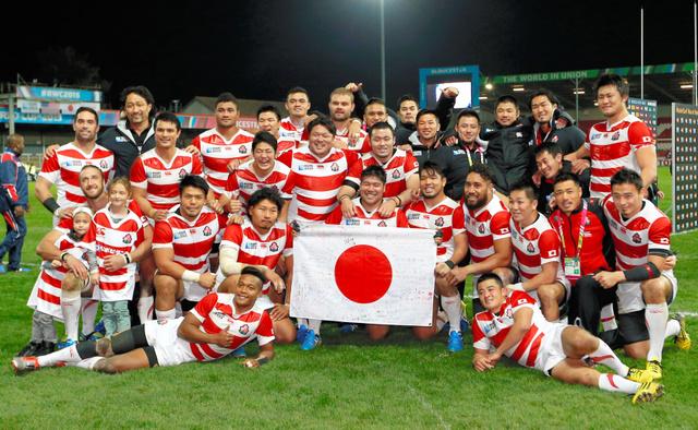 ラグビーワールドカップ2015の日本代表