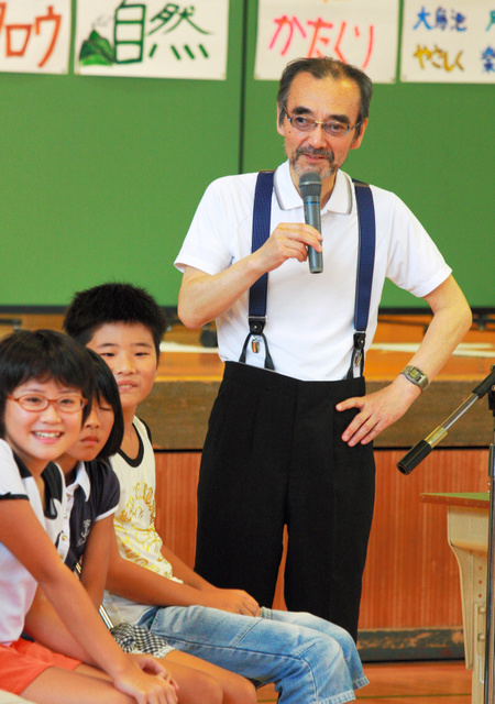 Images of 新井満 - JapaneseClass.jp