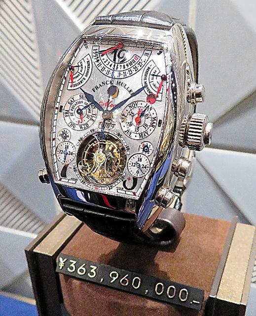 new product ac3b1 206d2 高島屋、時計商戦腕まくり 大阪に最大級売り場:朝日新聞デジタル
