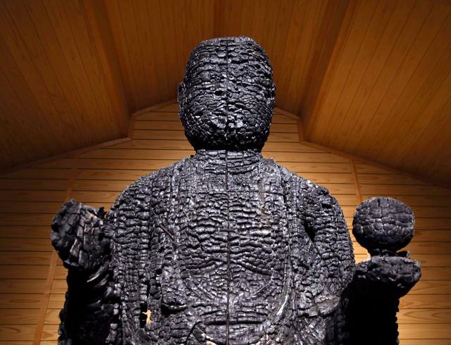 焦げた地蔵、火災の怖さ訴える 京都・寂光院で公開へ:朝日新聞デジタル