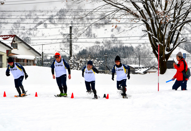 新潟)スペシャル・オリンピックス、日本選手団が合宿:朝日新聞デジタル