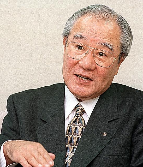 惜別)森下洋一さん 元松下電器産業社長:朝日新聞デジタル