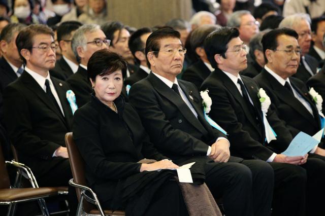 東京大空襲72年で法要 遺族ら参列、秋篠宮ご夫妻も
