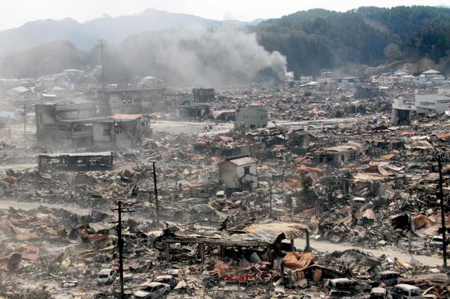 破壊されたまちは今 震災当時と現在の風景を写真で:朝日新聞デジタル