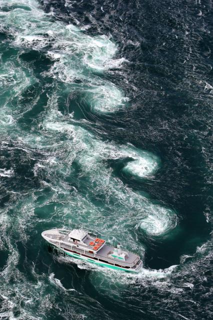 春の美しい渦潮見られます 鳴門海峡