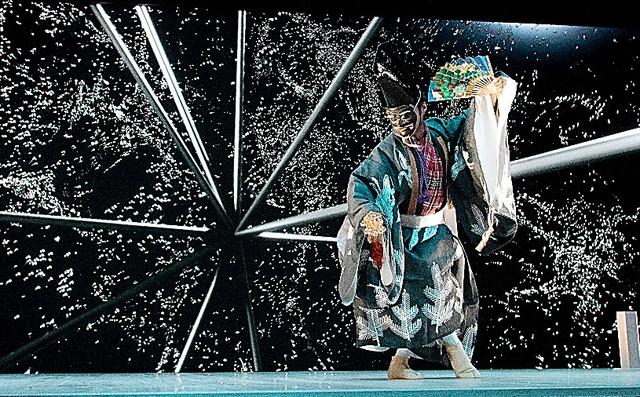 伝統芸能とハイテク、融合 和太鼓×ボカロ 能・狂言×CG・3D:朝日新聞デジタル