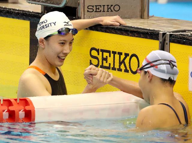 「記録更新、水泳界の刺激に」元五輪代表・萩原智子さん